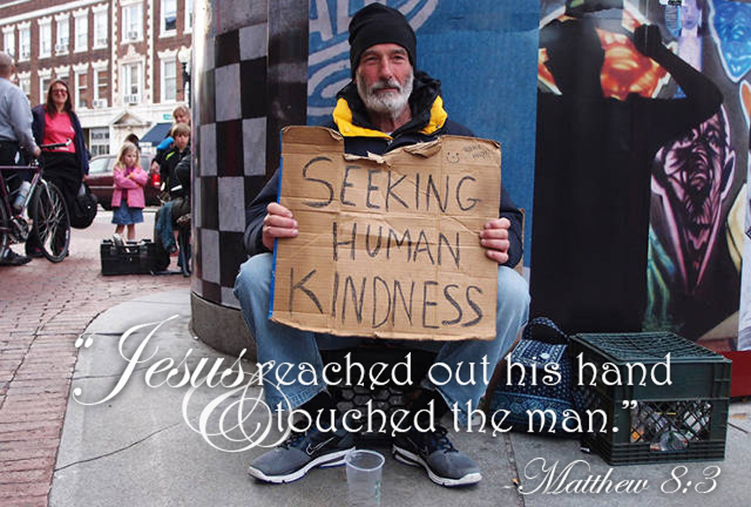 reach out to the homeless