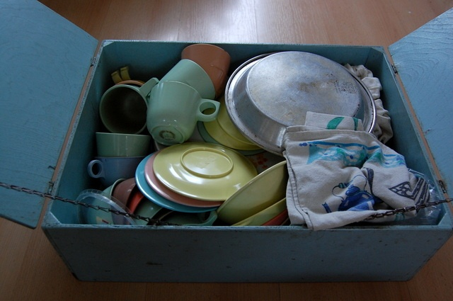 Camping-dishes